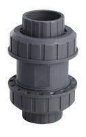 Шаровой обратный клапан ПВХ, PN 16, d 40 мм