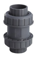 Шаровой обратный клапан ПВХ, PN 16, d 20 мм